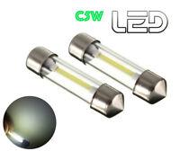 2 Ampoule Navette C5W 36 mm 36mm LED  Blanc Eclairage Habitacle Plafonnier