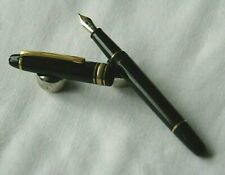 RARE STYLO PLUME MONTBLANC MEISTERSTUCK  CHOPIN 145 PLUME 18 CARATS H421