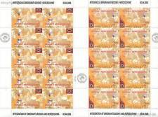 EUROPA CEPT 2006 INTEGRATION - BOSNIEN HERZEGOWINA 437-38 KLEINBOGEN **