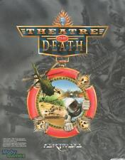 Theatre of Death w/ Manual PC tactical war commander squads soldiers game! BOX