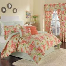 Waverly Fresh Picked Petal 4-pc Reversible King Comforter Set Multi