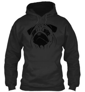 Pug T For Lover Standard College Hoodie
