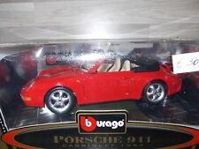 Bburago 1/18 - Porsche 911 cabriolet 1994