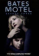 Bates Motel: Season Three (DVD, 2015, 3-Disc Set) - BRAND NEW SEALED