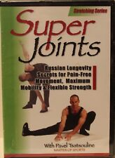 NEW Super Joints Pavel Tsatsouline stretching DVD fitness exercise flexibility