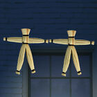 Close Up Magical Voodoo Doll Spooky Gimmick Straw Doll Magic Trick Toy CF