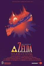 The Legend Of Zelda Majora's Mask  - Wall Poster 30 in x 20 in - 5 Set of 9