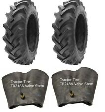 2 New Tractor Tires & 2 Tubes 16.9 28 GTK R1 10 ply TubeType 16.9x28 FS