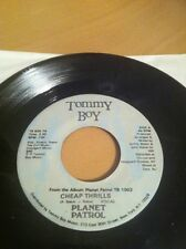 "PLANET PATROL - ""Cheap Thrills"" (prod by: Arthur Baker) 7"" 45 rpm"
