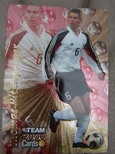 Team 2006 Cards THOMAS HITZLSPERGER glänzend VfL Wolfsburg FCB Bayern München