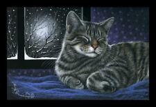 Cat Print Cats Always. from an Original by I Garmashova