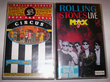 LOT K7 VIDEO VHS SPECIAL THE ROLLING STONES