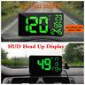 "6.2"" Car Head Up Display GPS Speedometer HUD Head Up Display Overspeed Warning"