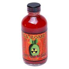 Da 'bombe Ghost Pepper extrêmement Hot Chili Sauce Piment Habanero Piment 113 g