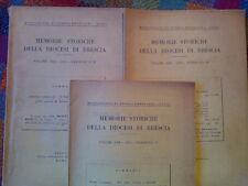 MEMORIE STORICHE DELLA DIOCESI DI BRESCIA - annata completa 1955  sotto i titoli