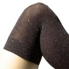 1 Pair Gipsy Speckled Over Knee Socks One Size 66 Acrylic 2 Nylon 11 Viscose Brown