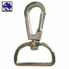 10pcs Lobster Clasp Swivel Trigger Clip Snap Hook Key Ring 20mm CKBUT3334x10