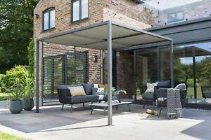 Norfolk Leisure sliding roof gazebo - 2.8m x 2.8m