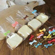 Candy Gift Transparent Plastic Bags Lollipop Cookies Packaging Cellophane 100Pcs