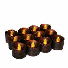 Halloween Electric LED Candle Flameless Tealight Wedding Party Xmas Decoration