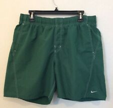 EUC Men's Nike Green Swim Trunks Size Lg
