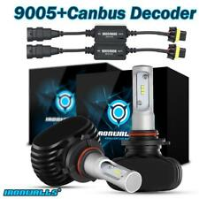 9005 HB3 9145 LED Headlight Conversion Kit Light Bulb 6000K White+Canbus Decoder
