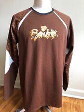 Sombrio L Brown Mountain Bike Cycling Jersey Long Sleeve Shirt