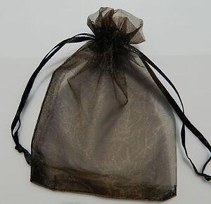 """100 4""""x6"""" 10cmx15cm Sheer Organza Wedding Christmas Favor Gift Bags Pouches"""