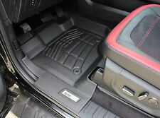 2015 - 2017 Ford F150 Super Cab 2-Piece Black Front Floor Liners