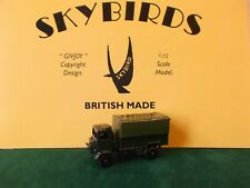 skybirds Models.   3 Ton Army Lorry.  Austin K5