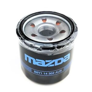New Genuine Mazda Oil Filter Mazda 2 121 323 626 MX-5 RX-7 RX-8 B6Y114302AUS