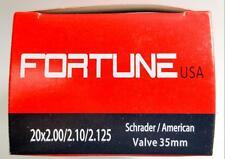 """1 Inner Tube 20x2.125 2.10 2.00 MTB ATB American Schrader Regular Valve 20"""" inch"""