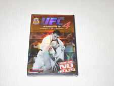UFC Ultimate Fighting Championship Classics 4 DVD NEW Royce Gracie Dan Severn ++