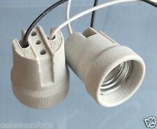 E27 ES E14 SES CERAMIC LAMPHOLDER,LED CFL BULB LAMP LIGHT SOCKET BASE HOLDER,NEW