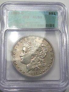 AU 1883-o Morgan Dollar ICG AU50.  #12