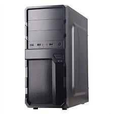 Caja ATX Coolbox F200 negra sin fuente USB 3.0 Cajcoof200sf