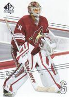 2014-15 SP Authentic Hockey #66 Devan Dubnyk Arizona Coyotes
