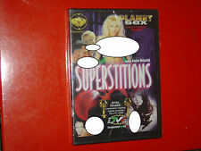 "DVD SEALED""SUPERSTITIONS""ANITA RINALDI-LAURA ANGEL-KATE MORE-BARBIE-130 MIN.ITA"
