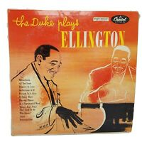 Duke Ellington - The Duke Plays Ellington LP - Capitol - T-477 Mono VG+ / VG