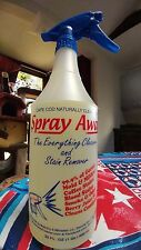 Spray Away Cleaner & Stain Remover 32 ounce Spray Bottle: Naturally Clean Scent