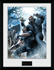 Impresión de coleccionista de Resident Evil Leon