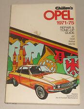 Reparaturanleitung Opel GT, Manta A, Kadett B / Rallye, Ascona A - Bj. 1971-1975