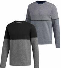 Adidas Adicross Heather Fleece Crew Sweatshirt Men's New - Choose Color & Size