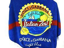 Dolce Gabbana Light Blue Italian Zest Round Beach Towel