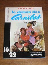 BD 16/22 / BARBE ROUGE TOME 1 / LE DEMON DES CARAIBES / EO 1977 / TRES BON ETAT