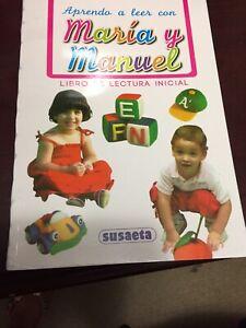 Maria Y Manuel Libro De Lectura Inicial Spanish Early Learning Book