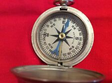 1941 Longines WIttnauer Air Force Compass  W/ Box and Cloth Bag - WWII Era