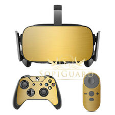SopiGuard Brushed Gold Film Protector for Oculus Rift Headset Remote Xbox