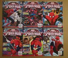 MARVEL ULTIMATE SPIDER-MAN MAGAZINE #2 9 10 11 12 13 Lot Set of 6. NM 2015-2017