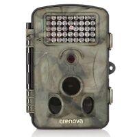 Camara Caza Impermeable Visión Nocturna Gran Angular 12 MP 1080P HD Vigilancia